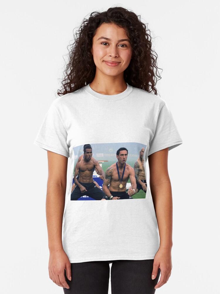 Alternate view of Rugby Haka Classic T-Shirt