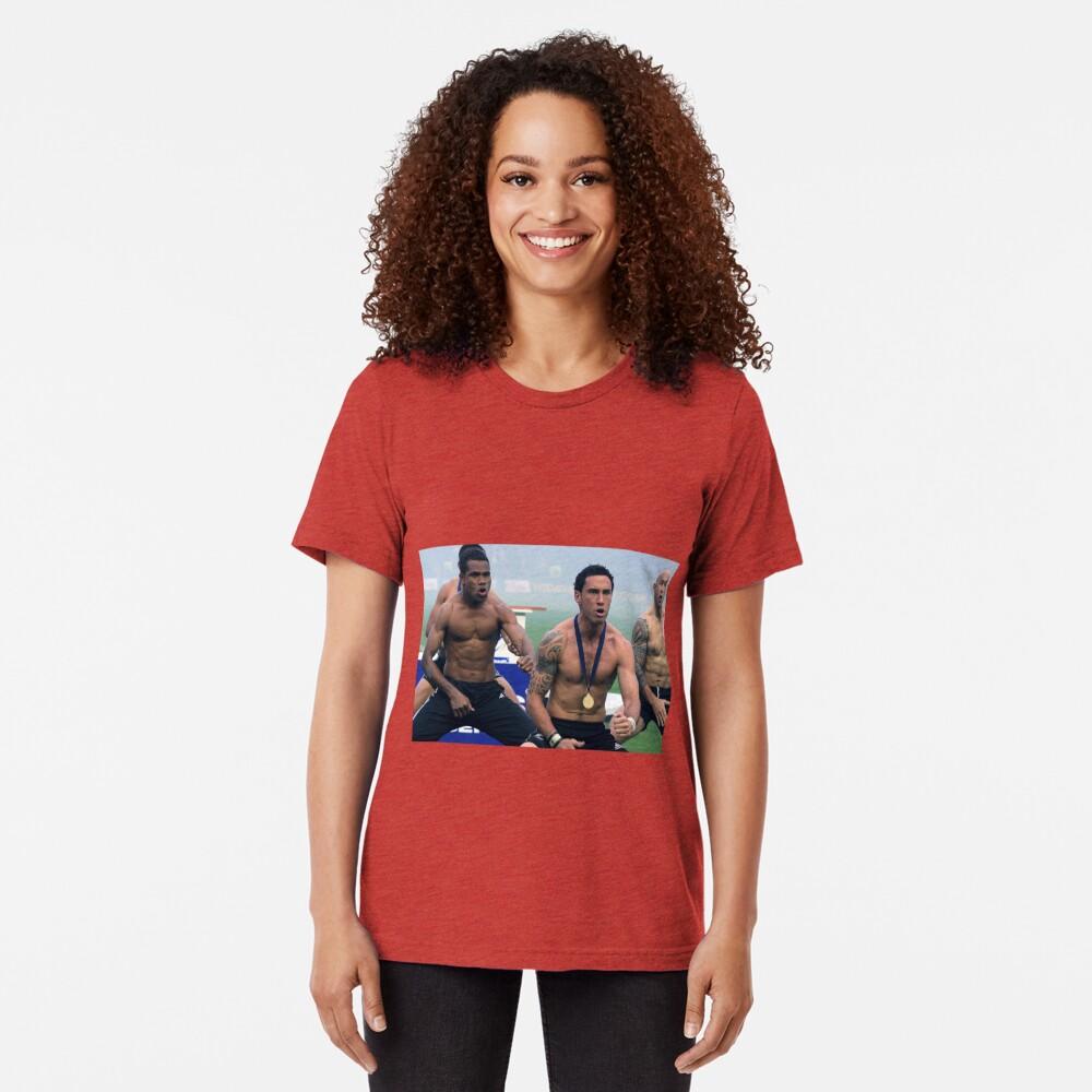 Rugby Haka Tri-blend T-Shirt