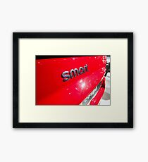 Smart Fortwo mhd Coupe Smart Logo [ Print & iPad / iPod / iPhone Case ] Framed Print