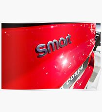 Smart Fortwo mhd Coupe Smart Logo [ Print & iPad / iPod / iPhone Case ] Poster