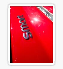 Smart Fortwo mhd Coupe Smart Logo [ Print & iPad / iPod / iPhone Case ] Sticker