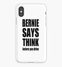 Bernie says... iPhone Case/Skin