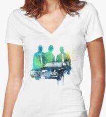 Supernatural Women's Fitted V-Neck T-Shirt