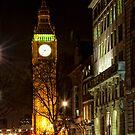 Big Ben at night by Magdalena Warmuz-Dent