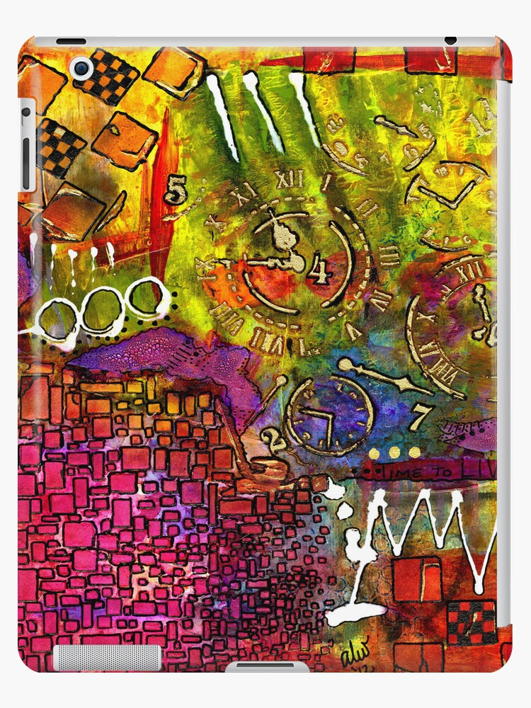 It's Time - iPad Cover by © Angela L Walker