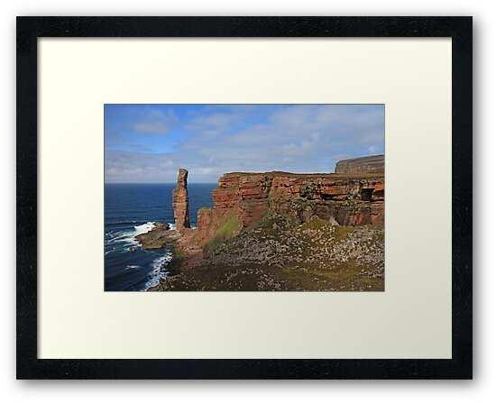 The Old Man of Hoy by RoystonVasey