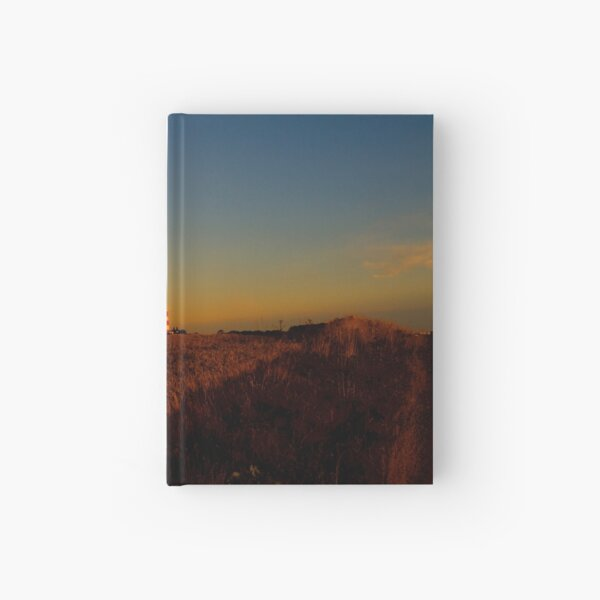 Happisburgh Lighthouse at Sunrise Hardcover Journal