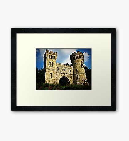 The Castle Cincinnati Framed Print