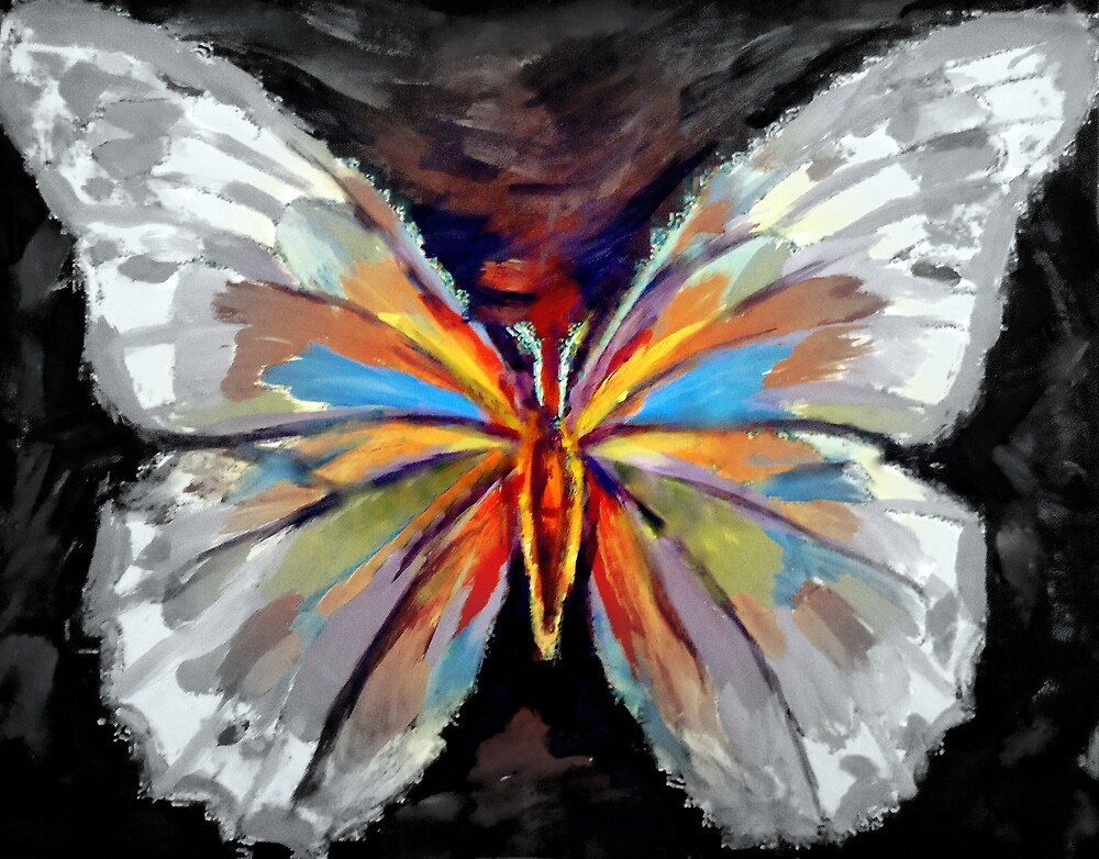 """Joyous flight"" by Helenka"