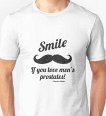 Smile If You Love Men's Prostates Slim Fit T-Shirt