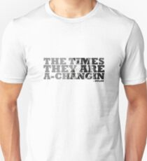 Bob Dylan The Times They Are A-Changin Unisex T-Shirt