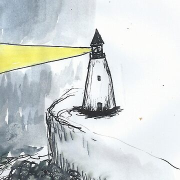 Lighthouse (Print) by fishie