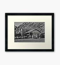 Taggart's Grill Framed Print