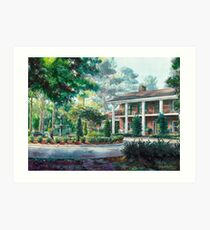 Flowood Fountain Art Print