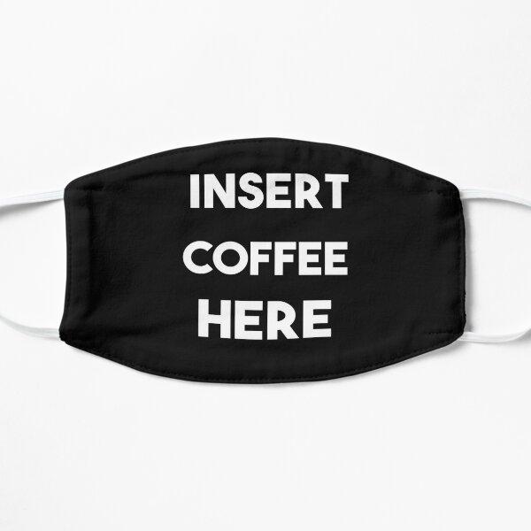 Insertar máscara de café aquí Mascarilla