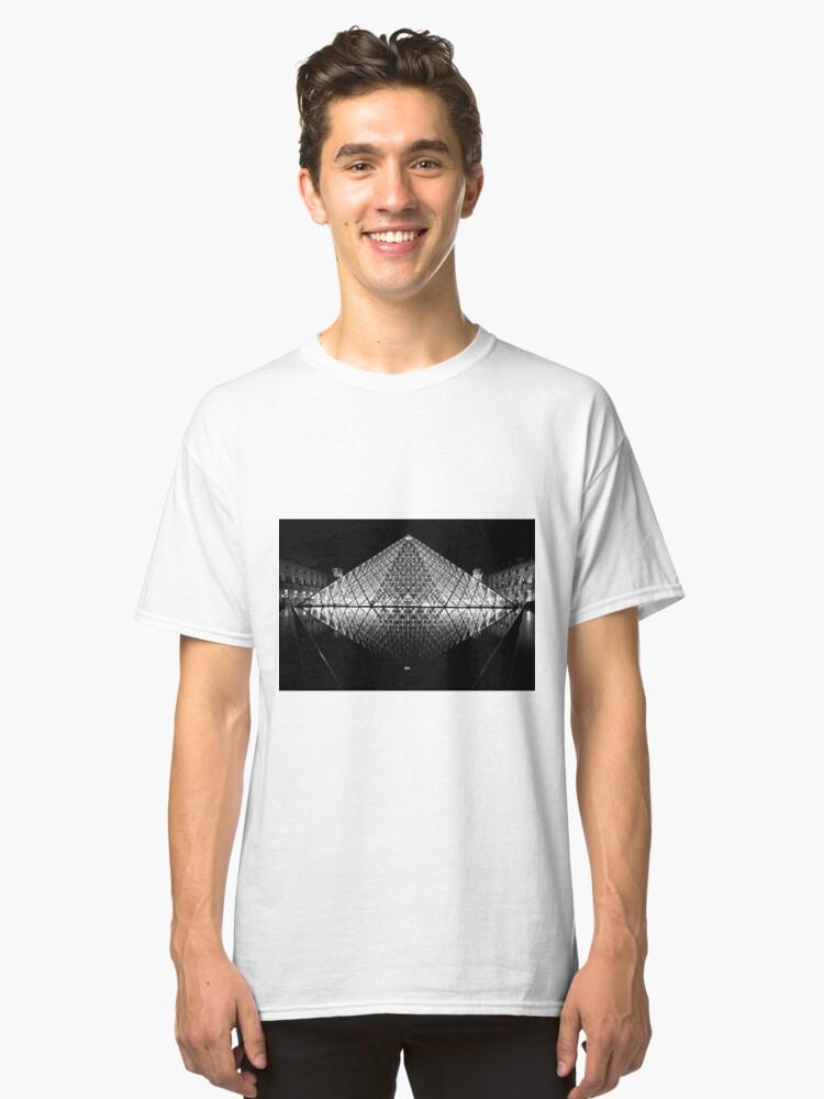 Alternate view of The Louvre, Paris Classic T-Shirt