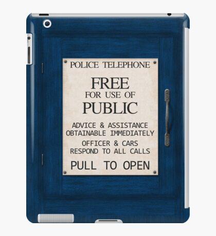 Police Telephone iPad Case/Skin