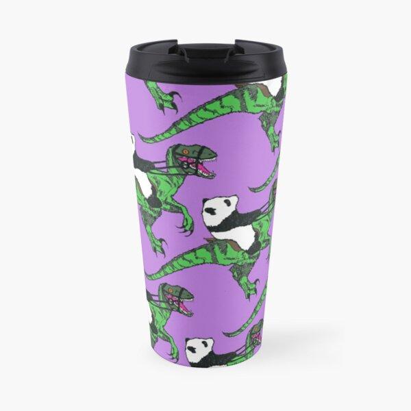 Jurassic Panda Logo Print Travel Mug