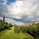 Princes Street Gardens, Edinburgh by Stuart Robertson Reynolds