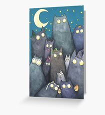 Lots of Cats Greeting Card