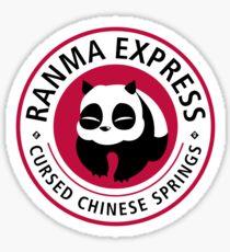 Ranma Express Sticker