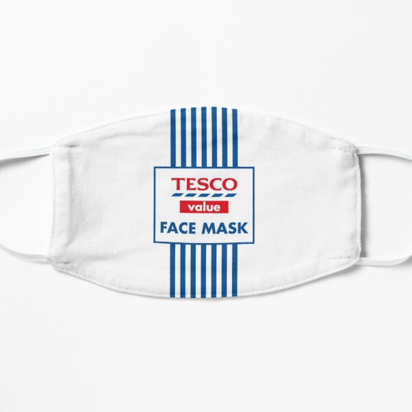 Masque Tesco Value - Parodie Masque sans plis