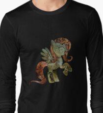 Fluttershy woodart collage T-Shirt