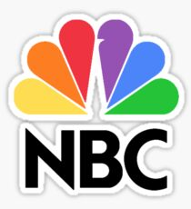 NBC Logo Sticker