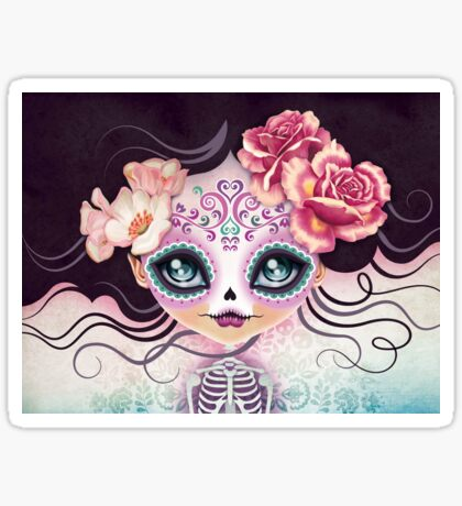 Camila Huesitos - Sugar Skull Sticker