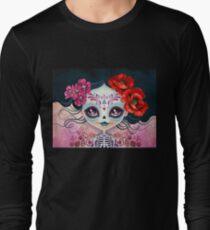 Camiseta de manga larga Amelia Calavera - Calavera de azúcar