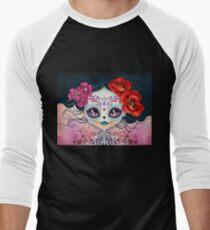 Amelia Calavera - Sugar Skull Men's Baseball ¾ T-Shirt