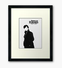 Sherlock Framed Print