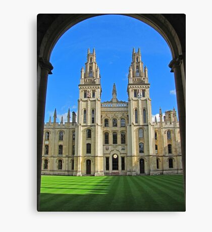 All Souls College, Oxford Canvas Print
