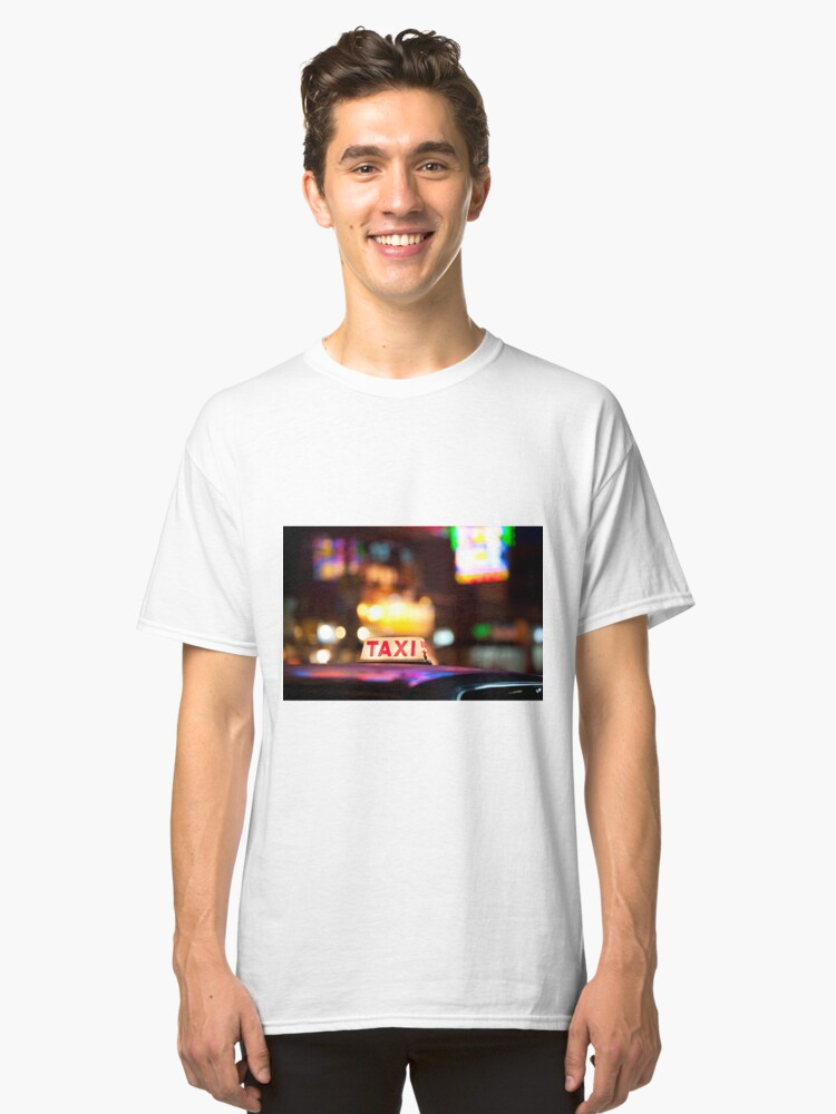 Alternate view of Hong Kong Taxi Classic T-Shirt