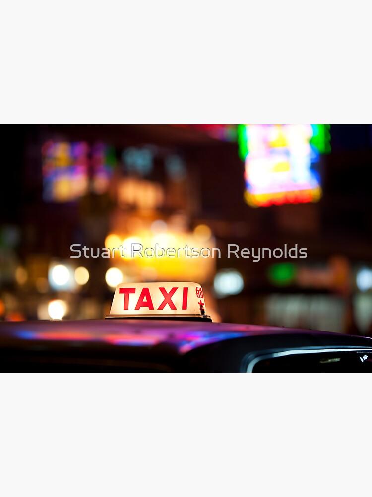 Hong Kong Taxi by Sparky2000