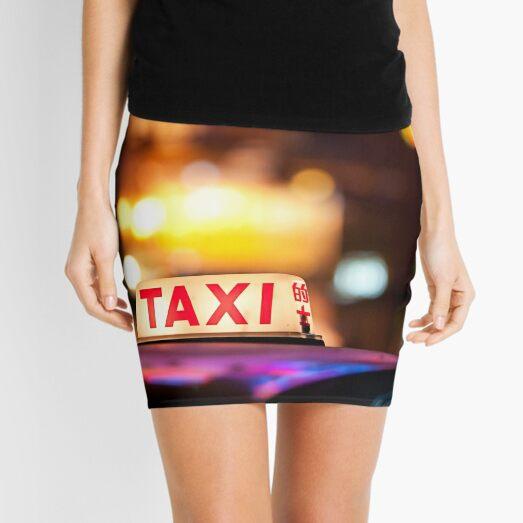 Hong Kong Taxi Mini Skirt