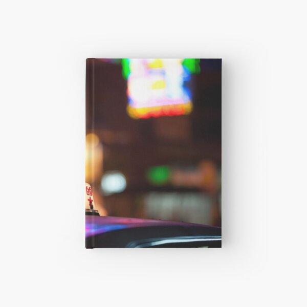 Hong Kong Taxi Hardcover Journal