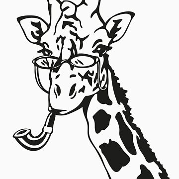 Suave Giraffe by MarenMay