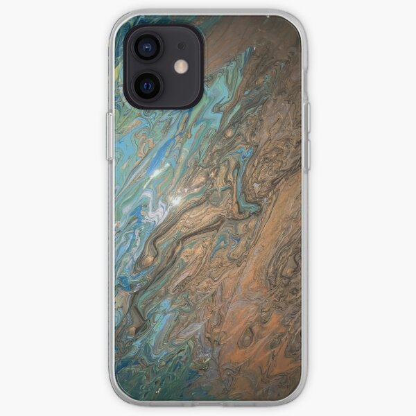 Beach:  An Abstract Perspective iPhone Soft Case