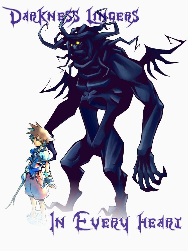 """""""Darkness Lingers in Every Heart"""" Kingdom Hearts 