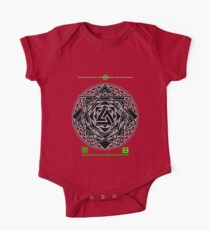 NOV 2012 MERCH HYPER PHI 777 IMPOSSIBLE CROP CIRCLE TRIANGLE BLACK WITH CEWDI QRCODE Kids Clothes