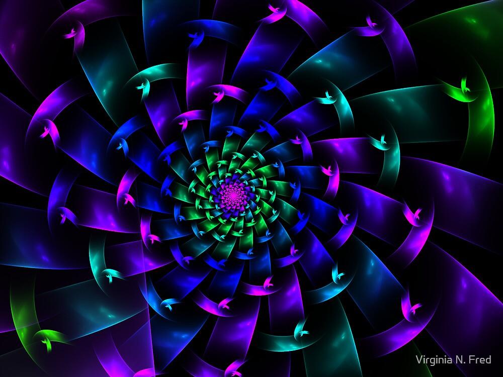 Purple by Virginia N. Fred