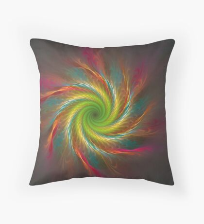 Dusted in Colour Throw Pillow