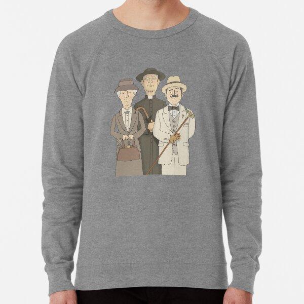 Poirot, Marple and Father Brown Lightweight Sweatshirt