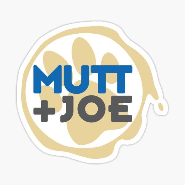 Mutt and Joe Logo Sticker
