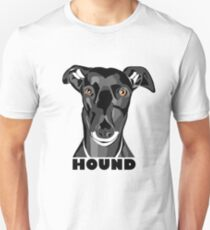 Boris the Greyhound mk2 Unisex T-Shirt