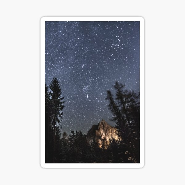 Orion | Nature and Landscape Photography Sticker