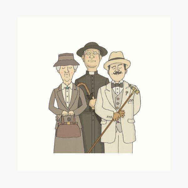 Poirot Kunstdruck
