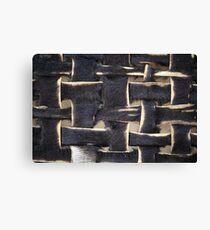 Leather Stripes Canvas Print