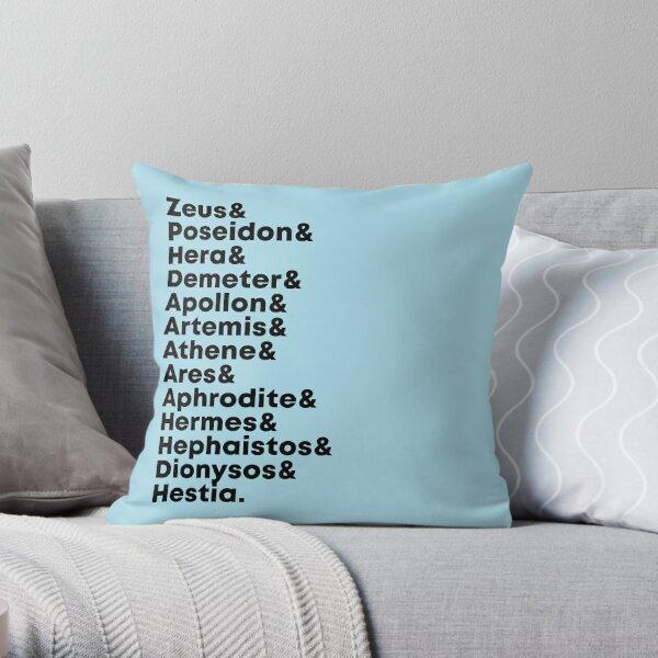 The Thirteen Olympian Gods Throw Pillow
